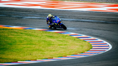 Rain affects Suzuki MotoGP Argentina test