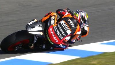 Marquez quickest in later run, Espargaro Friday's fastest