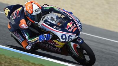 Pagliani en pole de la Rookies Cup à Jerez