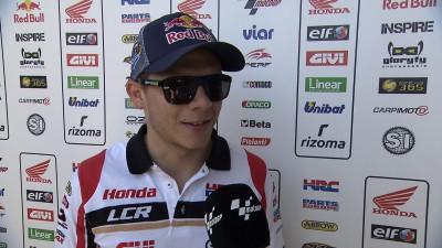 Bradl mit Startplatz 7 in Jerez zufrieden