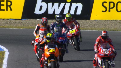 Lorenzo leads WUP on birthday morning