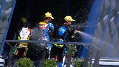 Fenati gewinnt brillantes Rennen im sonnigen Jerez