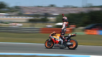 Marquez maintains 100% record with stunning fourth win