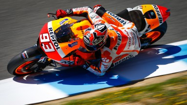 Marquez on top again following day of testing