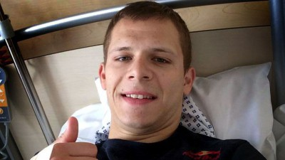 Intervento al braccio per Bradl in Germania