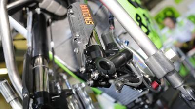 A.バウティスタがアップグレートされたブレーキとサスペンションのテストに集中