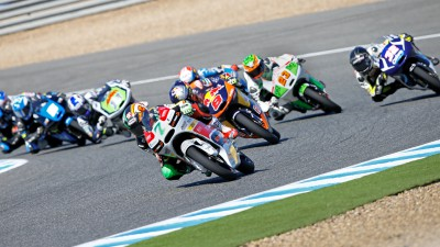 Fenati and colleagues pursue Miller