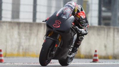 ART-Aprilia test day for Biaggi