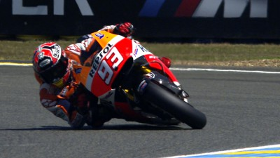 Marquez on the pace on Friday afternoon