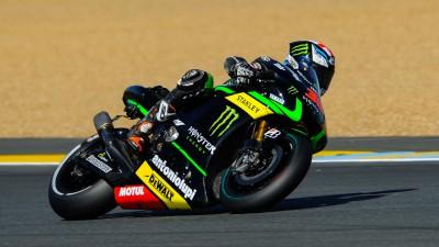 Smith trotz Sturz schnellster Yamaha-Fahrer
