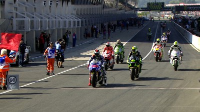 Lorenzo fastest in third practice run