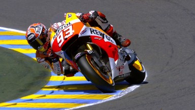 New pole record for Marquez at Le Mans