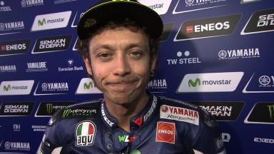 Rossi et Lorenzo en deuxième ligne