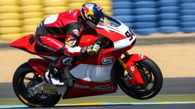 Folger shows speed early on Sunday