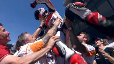 Brilliant Marquez makes it five in a row