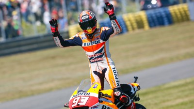 Marquez continues record-breaking run