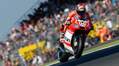 Dovizioso and Crutchlow to be joined by Pirro in front of Ducatisti
