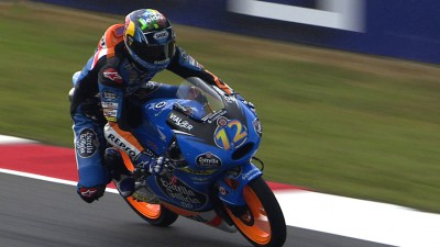 Second practice sees Marquez on top