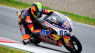 Red Bull MotoGP Rookies Cup: Pole para Martín
