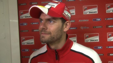 Crutchlow registers best 2014 qualifying result
