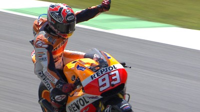 Marquez comes out on top in duel with Lorenzo