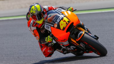 Espargaro leads the way at home track