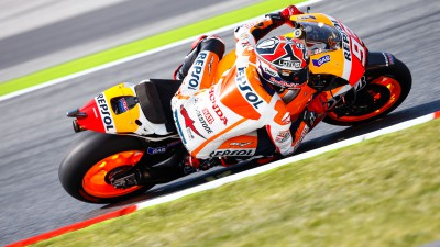Tricky first day for Repsol Honda pair