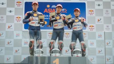 シェルアドバンス・アジア・タレント・カップ:第3戦中国大会第2レースで日本勢が4連続の表彰台独占