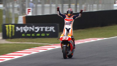 Marquez wins again in great Barcelona race