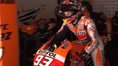Marquez in vetta nel test di Barcellona