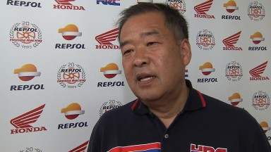 Honda's Nakamoto delighted with both riders