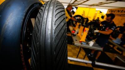Dunlop con nuovi pneumatici anteriori