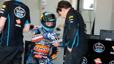 Marquez concludes two days of testing at Motorland