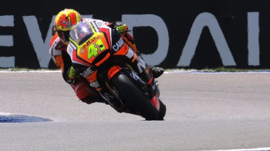 Espargaro demonstrates record pace on Thursday at Assen