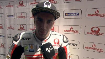 Iannone auf fünf bester Ducati-Fahrer