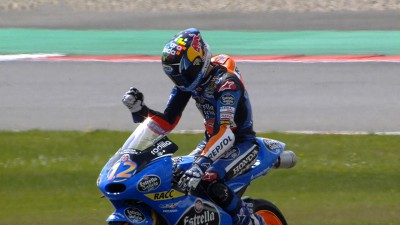 Marquez takes victory in crash strewn Assen contest