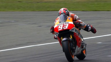 Marquez maintains winning form in complicated TT race