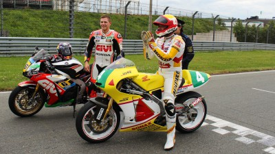 Bradl rides father's 250 bike at Sachsenring
