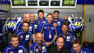 Yamaha and Valentino Rossi set to continue with two-year contract extension