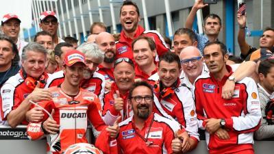 ドゥカティ、再び頂点を目指して来季新型エンジンを投入