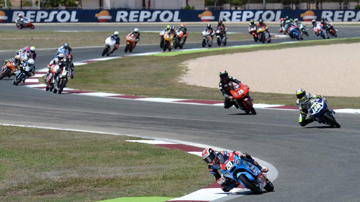 Albacete Circuit : Fim cev repsol: quartararo raffin and rodríguez head qualifying