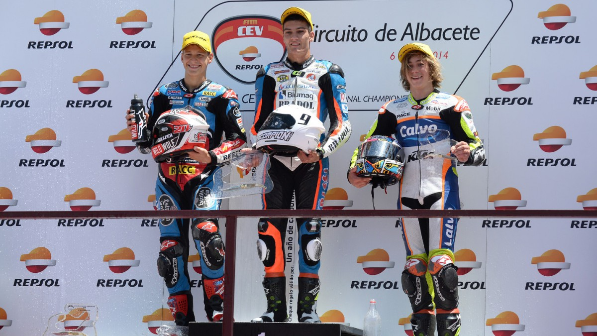 Albacete Circuit : Surprises and falls in the fifth round of the fim cev repsol in