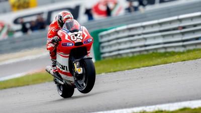 Ducati Team auf dem Weg zum Sachsenring