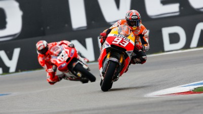 Momentum with Repsol Honda en route to Germany