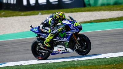 Rossi già in Germania con ottimismo