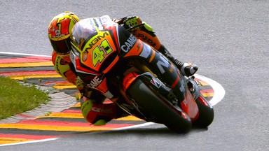 Aleix Espargaró se confirma como el más veloz del día en la FP2