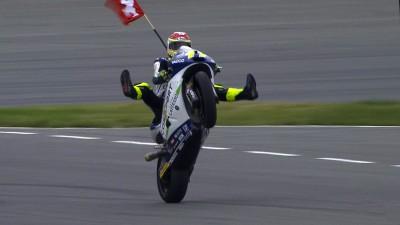 Aegerter feiert am Sachsenring seinen ersten GP-Sieg