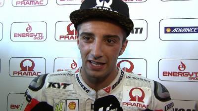 Un impresionante Iannone termina como el mejor piloto Ducati