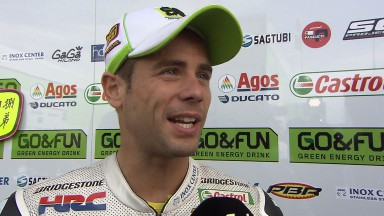 Bautista and Redding analyse Sachsenring race