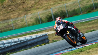 Marquez and Pedrosa have first outing on 2015 machine